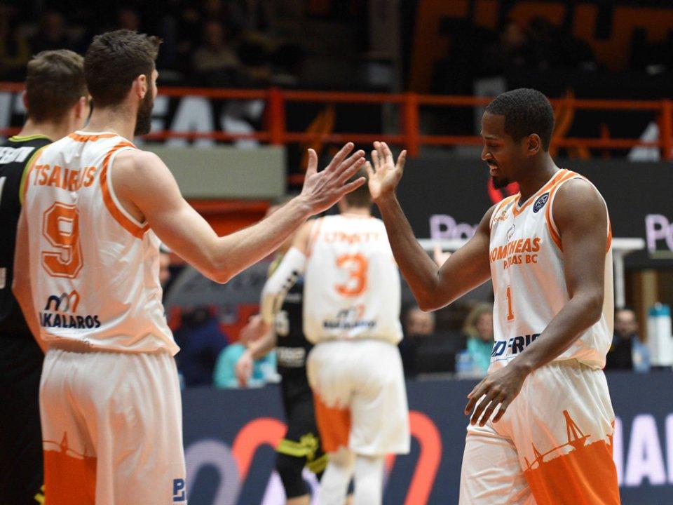 Basketball Champions League: Δύσκολες αποστολές για ΠΑΟΚ